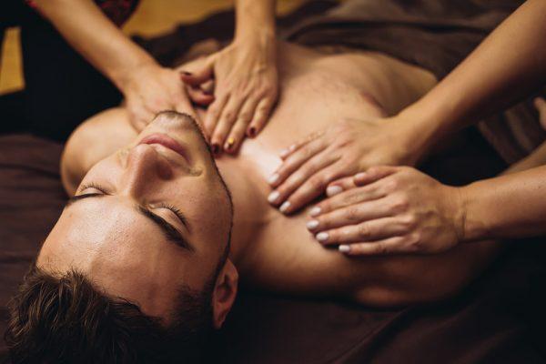 Fourhand-massage